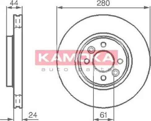 Kamoka 1032248 - Piduriketas multiparts.ee