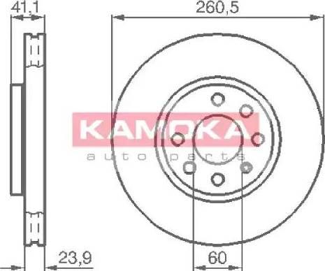 Kamoka 1032262 - Piduriketas multiparts.ee