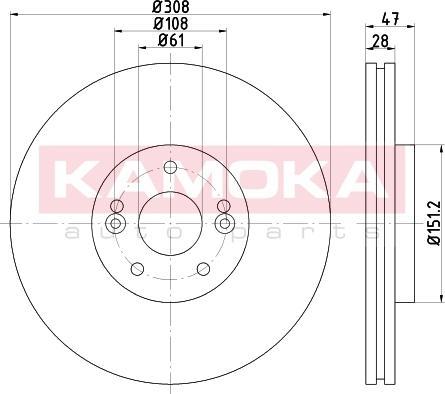 Kamoka 103279 - Piduriketas multiparts.ee