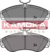Kamoka JQ1011936 - Piduriklotsi komplekt,ketaspidur multiparts.ee