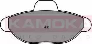 Kamoka JQ1011498 - Piduriklotsi komplekt,ketaspidur multiparts.ee