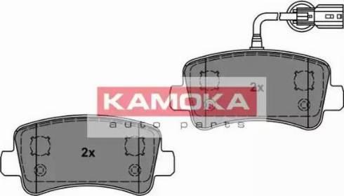 Kamoka JQ101144 - Piduriklotsi komplekt,ketaspidur multiparts.ee