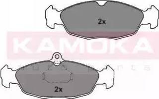 Kamoka JQ1011464 - Piduriklotsi komplekt,ketaspidur multiparts.ee