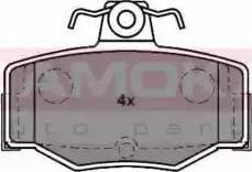 Kamoka JQ1011414 - Piduriklotsi komplekt,ketaspidur multiparts.ee