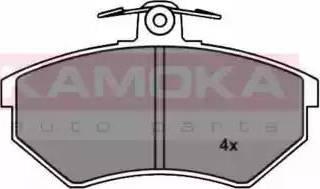 Kamoka JQ1011550 - Piduriklotsi komplekt,ketaspidur multiparts.ee