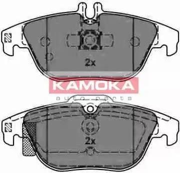 Kamoka JQ101117 - Piduriklotsi komplekt,ketaspidur multiparts.ee