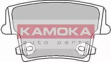 Kamoka JQ101132 - Piduriklotsi komplekt,ketaspidur multiparts.ee
