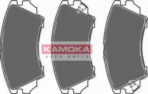 Kamoka JQ1018416 - Piduriklotsi komplekt,ketaspidur multiparts.ee