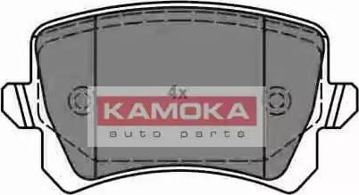Kamoka JQ1018116 - Piduriklotsi komplekt,ketaspidur multiparts.ee