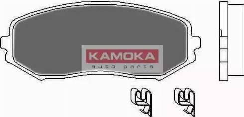 Kamoka JQ1018120 - Piduriklotsi komplekt,ketaspidur multiparts.ee