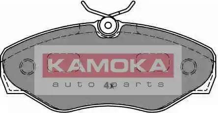 Kamoka JQ1018362 - Piduriklotsi komplekt,ketaspidur multiparts.ee