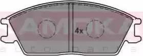 Kamoka JQ101870 - Piduriklotsi komplekt,ketaspidur multiparts.ee