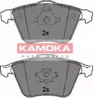 Kamoka JQ1013412 - Piduriklotsi komplekt,ketaspidur multiparts.ee