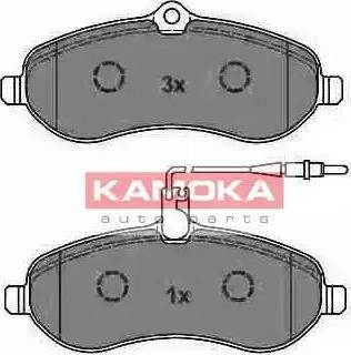 Kamoka JQ1013542 - Piduriklotsi komplekt,ketaspidur multiparts.ee