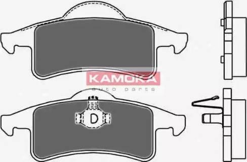 Kamoka JQ1013048 - Piduriklotsi komplekt,ketaspidur multiparts.ee