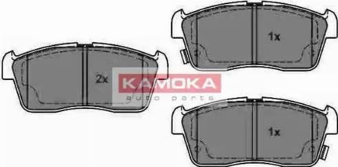 Kamoka JQ1013064 - Piduriklotsi komplekt,ketaspidur multiparts.ee