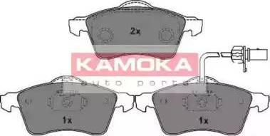 Kamoka JQ1013036 - Piduriklotsi komplekt,ketaspidur multiparts.ee