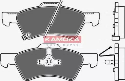 Kamoka JQ1013020 - Piduriklotsi komplekt,ketaspidur multiparts.ee