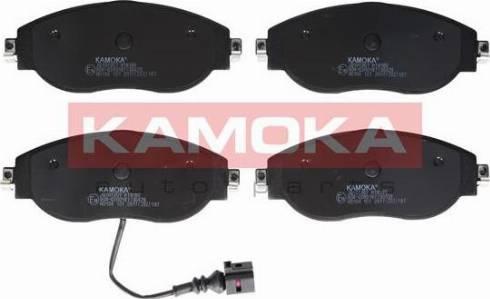 Kamoka JQ101307 - Piduriklotsi komplekt,ketaspidur multiparts.ee
