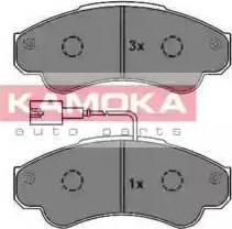 Kamoka JQ1012958 - Piduriklotsi komplekt,ketaspidur multiparts.ee