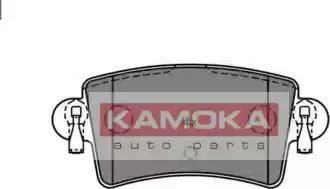 Kamoka JQ1012906 - Piduriklotsi komplekt,ketaspidur multiparts.ee