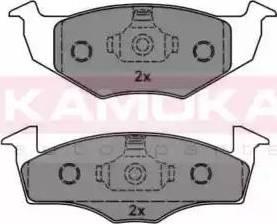Kamoka JQ1012576 - Piduriklotsi komplekt,ketaspidur multiparts.ee