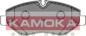 Kamoka JQ1012087 - Piduriklotsi komplekt,ketaspidur multiparts.ee