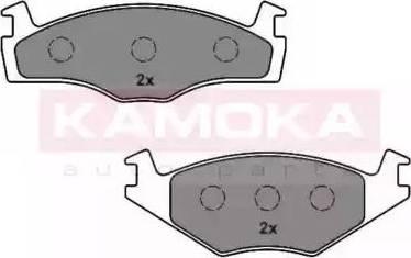 Kamoka JQ1012144 - Piduriklotsi komplekt,ketaspidur multiparts.ee