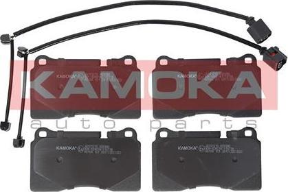 Kamoka JQ101215 - Piduriklotsi komplekt,ketaspidur multiparts.ee
