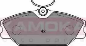 Kamoka JQ1012840 - Piduriklotsi komplekt,ketaspidur multiparts.ee