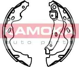 Kamoka JQ202039 - Piduriklotside komplekt multiparts.ee