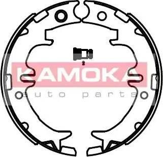 Kamoka JQ212045 - Piduriklotside komplekt,seisupidur multiparts.ee