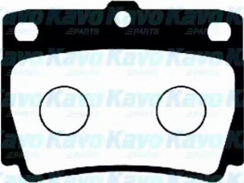 Kavo Parts BP-5526 - Piduriklotsi komplekt,ketaspidur multiparts.ee