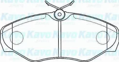 Cifam 822-338-2 - Piduriklotsi komplekt,ketaspidur multiparts.ee