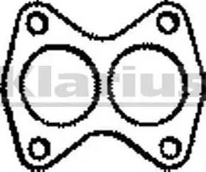 Klarius 410092 - Tihend, heitgaasitoru multiparts.ee