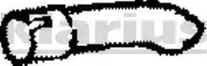 Klarius 110289 - Heitgaasitoru multiparts.ee