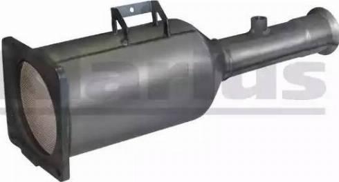 Klarius 390122 - Tahma-/partikelfilter,väljalaskesüst. multiparts.ee