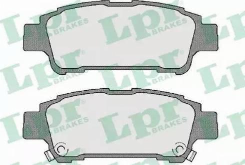 LPR 05P996 - Piduriklotsi komplekt,ketaspidur multiparts.ee