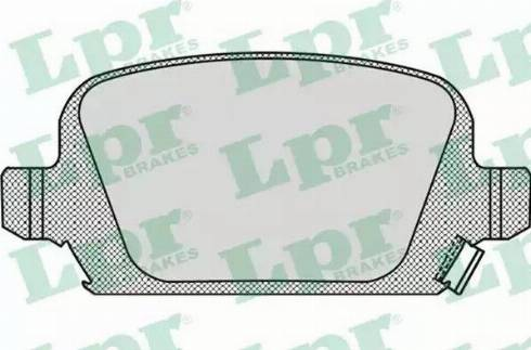 LPR 05P998 - Piduriklotsi komplekt,ketaspidur multiparts.ee