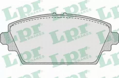 LPR 05P940 - Piduriklotsi komplekt,ketaspidur multiparts.ee