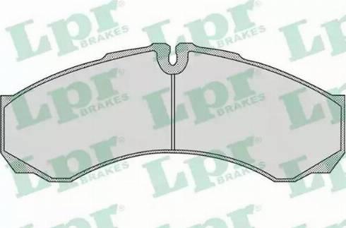 LPR 05P955 - Piduriklotsi komplekt,ketaspidur multiparts.ee