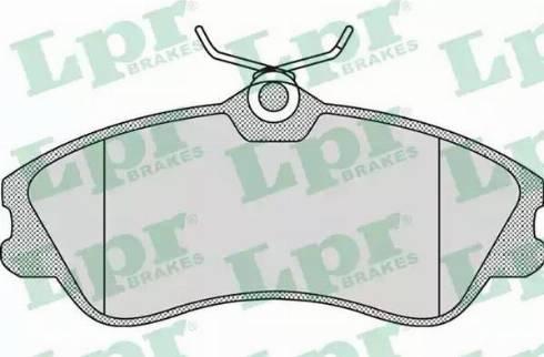 LPR 05P950 - Piduriklotsi komplekt,ketaspidur multiparts.ee