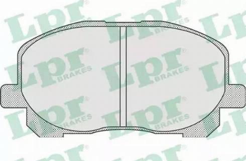 LPR 05P904 - Piduriklotsi komplekt,ketaspidur multiparts.ee