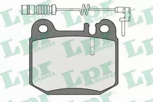 LPR 05P901A - Piduriklotsi komplekt,ketaspidur multiparts.ee