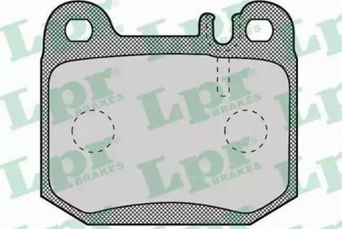 LPR 05P901 - Piduriklotsi komplekt,ketaspidur multiparts.ee
