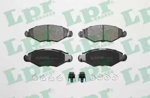 LPR 05P903 - Piduriklotsi komplekt,ketaspidur multiparts.ee