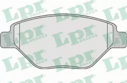 LPR 05P910 - Piduriklotsi komplekt,ketaspidur multiparts.ee