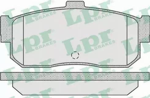 LPR 05P929 - Piduriklotsi komplekt,ketaspidur multiparts.ee