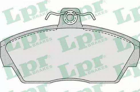 LPR 05P922 - Piduriklotsi komplekt,ketaspidur multiparts.ee