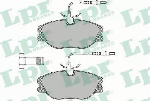 LPR 05P498 - Piduriklotsi komplekt,ketaspidur multiparts.ee